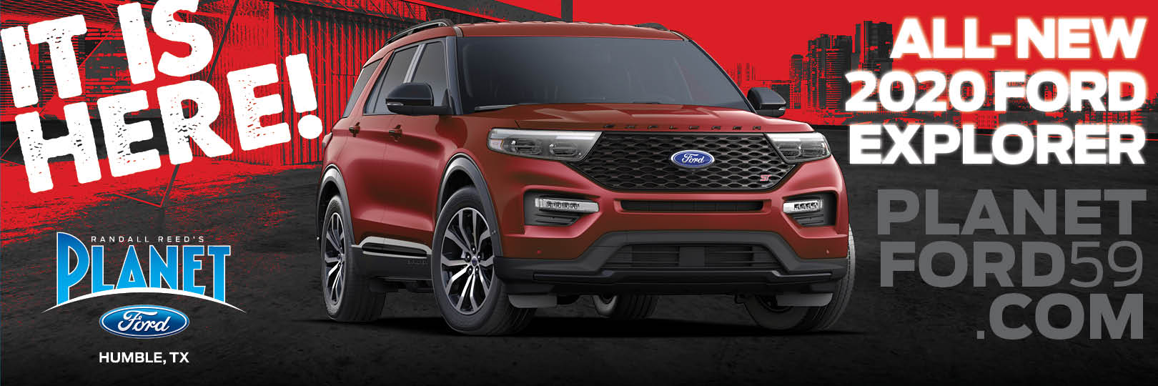2020 Explorer at Planet Ford 59