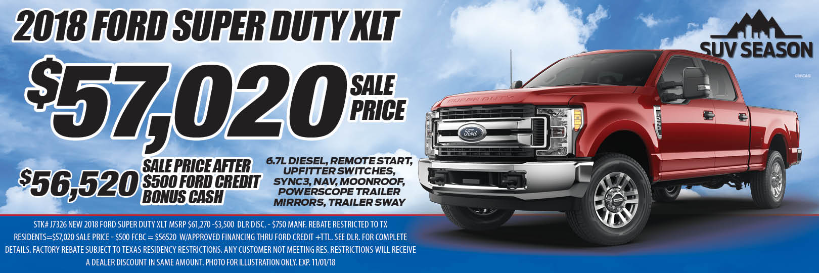 2018 Ford Super Duty XLT